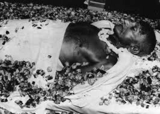 Mahatma Gahdi is Assassinated