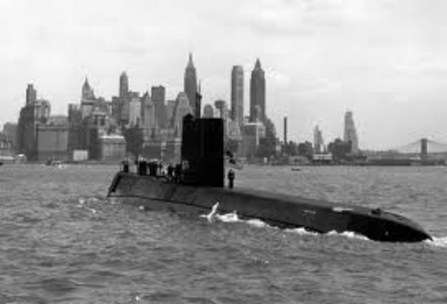 The USS Nautilus is Launched