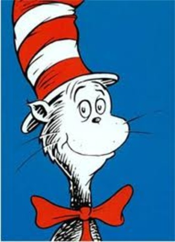 The Cat in the Hat is Published by Dr Suess