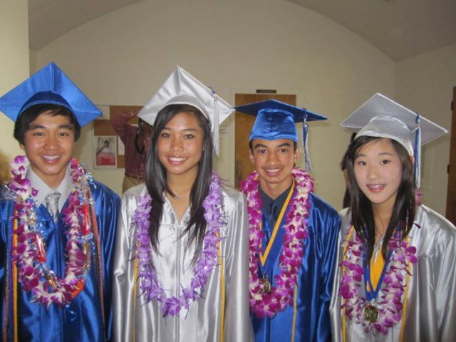 Graduated from Jr. High!