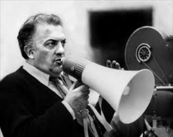 Federico Fellini morto
