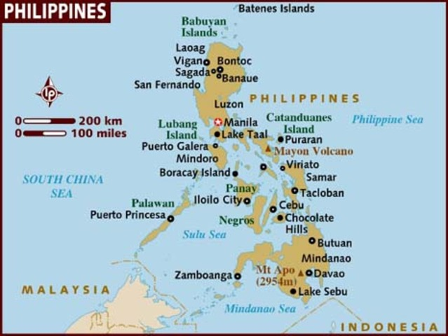 Philippines regain independence from U.S.