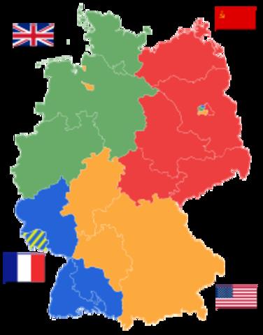 Germany split