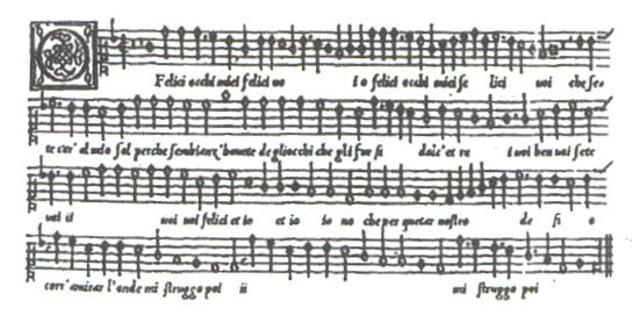 Exemple de l'evolució de la música