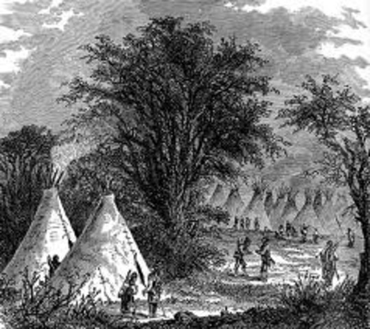 The Sioux Tribe almost attacks the expedition