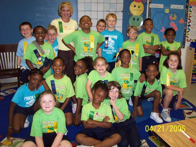 Student Teaching at Chickasaw Magnet School
