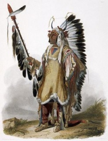 Trading with the Mandan Tribe