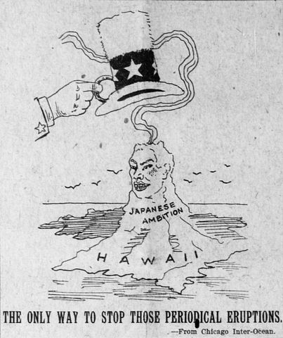 U.S. annexes Hawaii and the Philippines