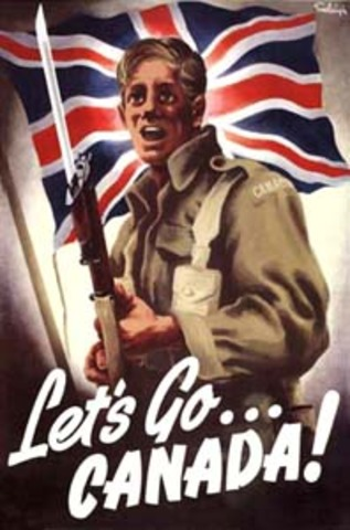 Le Canada Declare la Guerre Contre l'Allemagne