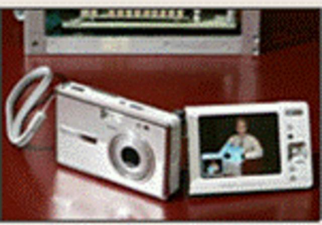 The first digital still camera.