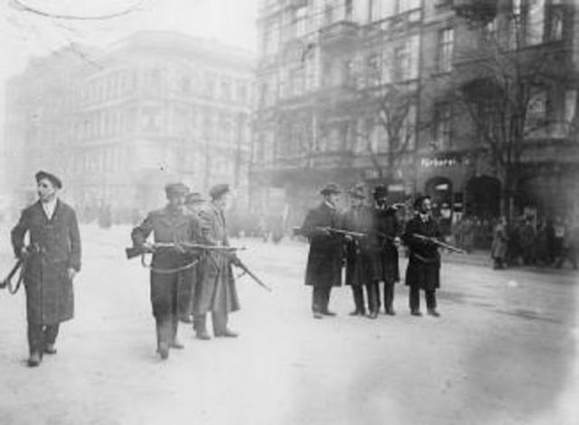 Spartacist Uprising in Berlin