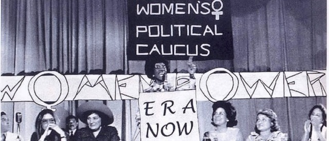 The National Women's Political Caucus is founded