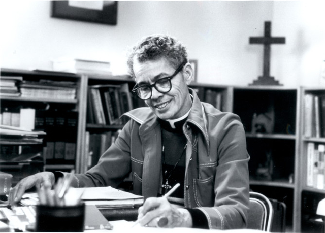 Rev. Pauli Murray becomes the first Female African American Episcopal Priest