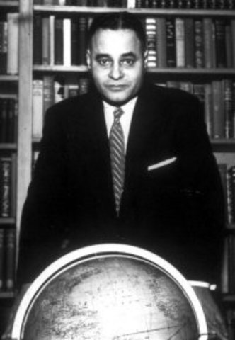 Ralph Bunche Wins the Nobel Peace Prize