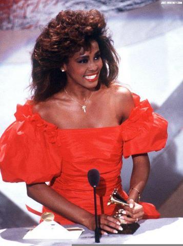 Whitney's album hits No. 1