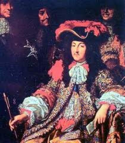 King Louis XIV dies