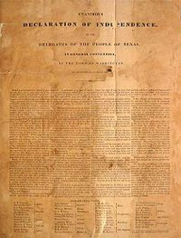 Convention of 1836 ( texas declaration of independece)