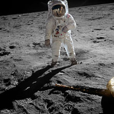 U.S. Apollo 11, first manned mission to land on the moon