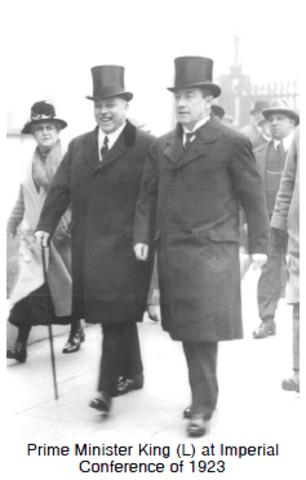 La Conference imperiale de 1923