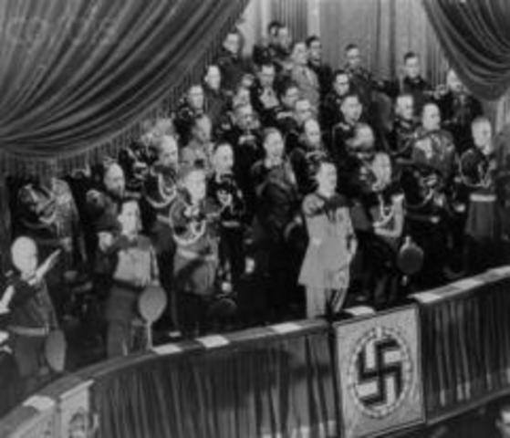 Nazis first Anti Jew Law