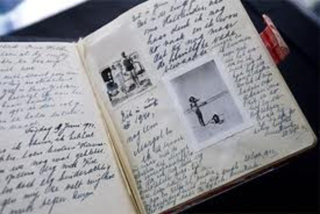 Anne Frank's diary is done