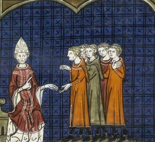 Pope Innocent III starts Albigensian crusade