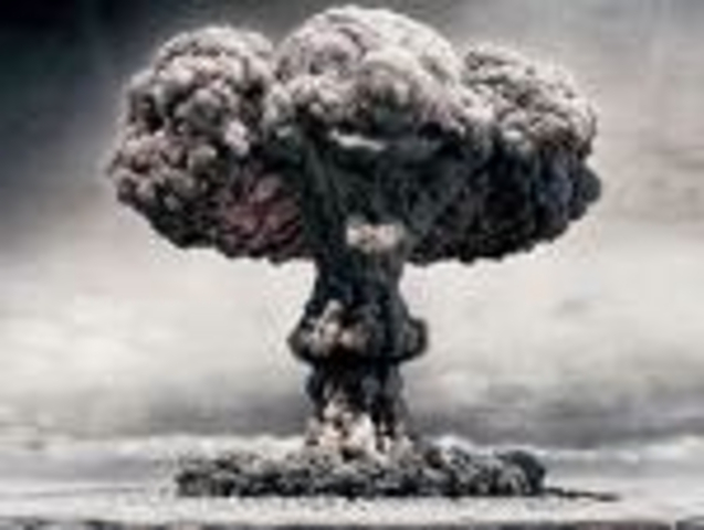 Nuclear testing: The Soviet Union detonates a 58-megaton yield hydrogen bomb known as Tsar Bomba over Novaya Zemlya. It remains the largest ever man-made explosion.