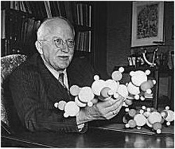 Staudinger receives Nobel Prize for Chemistry