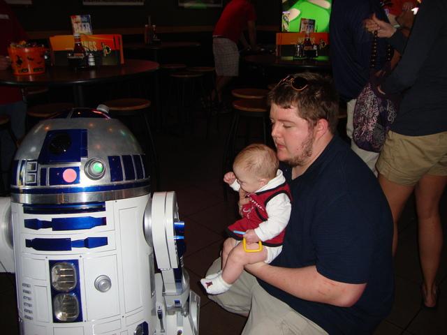 I met R2-D2!