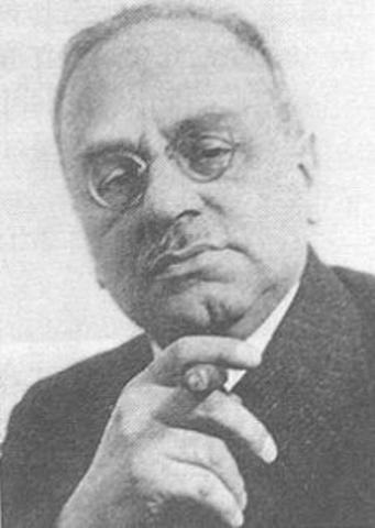 Alfred Adler is expelled by Freud from the Vienna Psychoanalytic Society