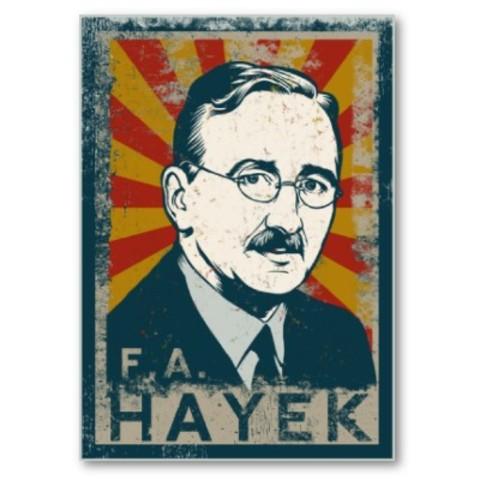 Farewell: F A Hayek