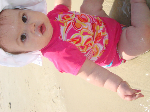 My first trip to the beach!