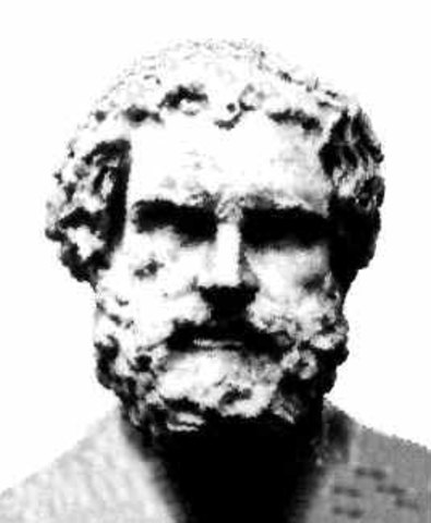 Greek Model 400BC Greek Philosopher Democritus