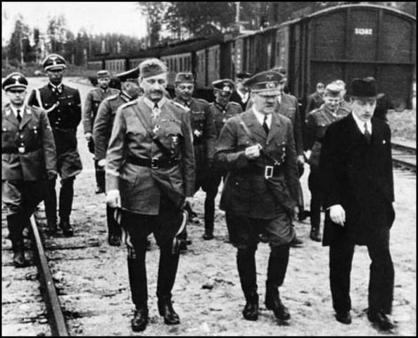 Nazis and Soviets sign Pact. (Nazi soviet Pact)