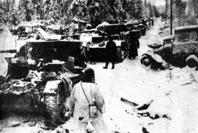 Soviets attack Finland.