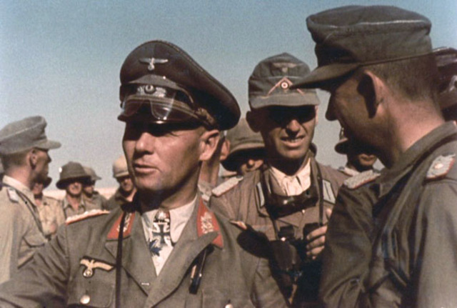 German General Erwin Rommel arrives in Tripoli, North Africa.