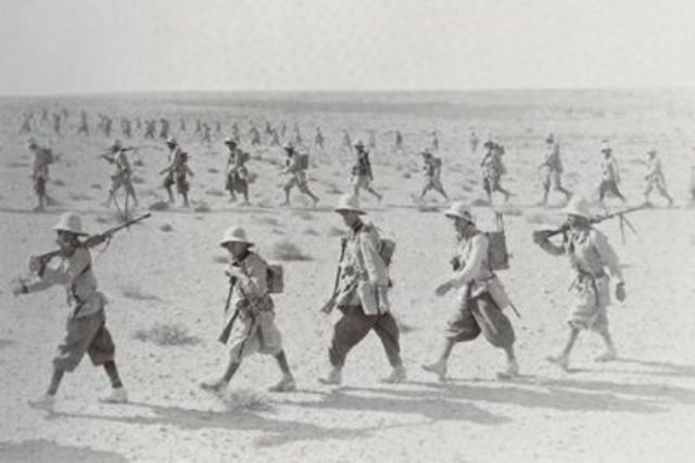 Italians invade Egypt (controlled by the British)