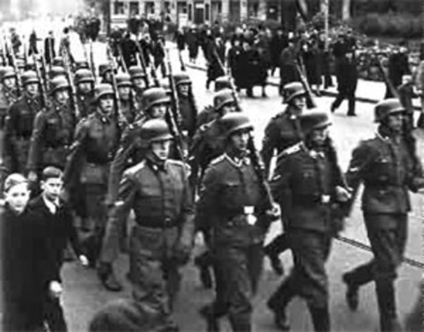 Nazis invade Greece and Yugoslavia.