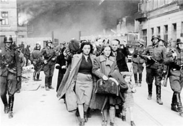 Yugoslavia surrenders to the Nazis.