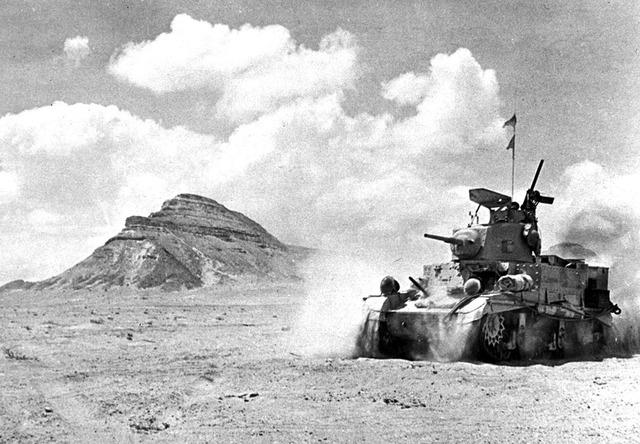 British begin a western desert offensive in North Africa against the Italians.