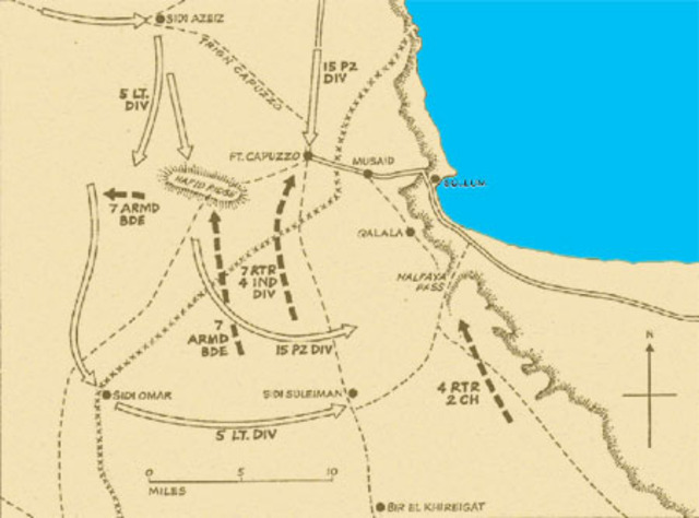 Operation Brevity begins (the British counter-attack in Egypt).