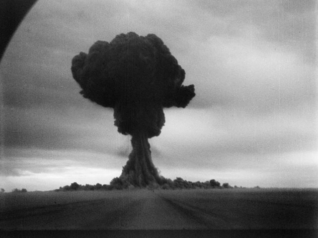 Soviets explode first atomic bomb