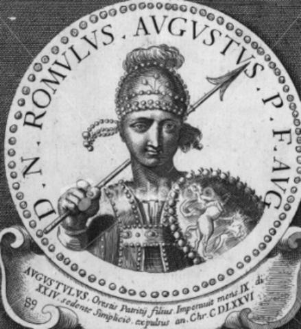 Death of Romulus Augustus