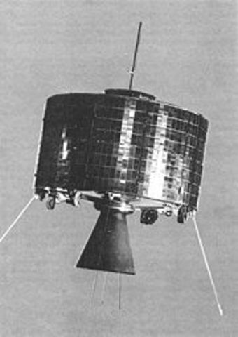 NASA launches Syncom
