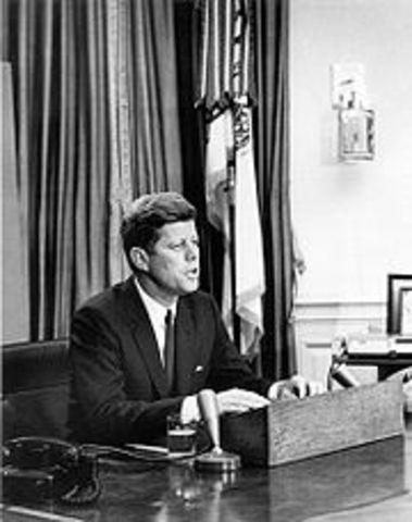 JFK delivers a historic Civil rights Address