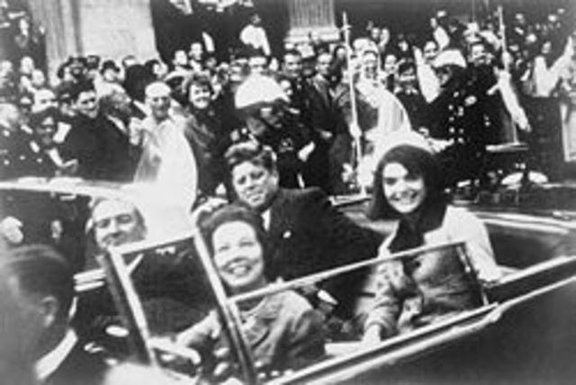 JFK shot died