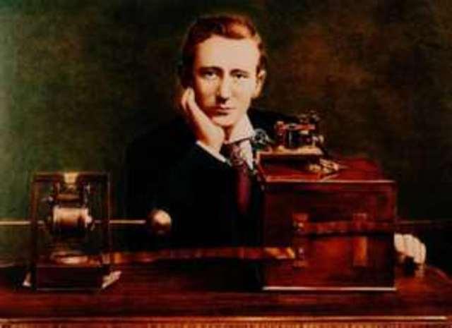 Guglielmo Marconi sends the first transatlantic radio message.