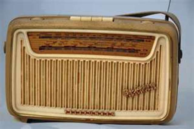 The first transistor radio goes on sale.