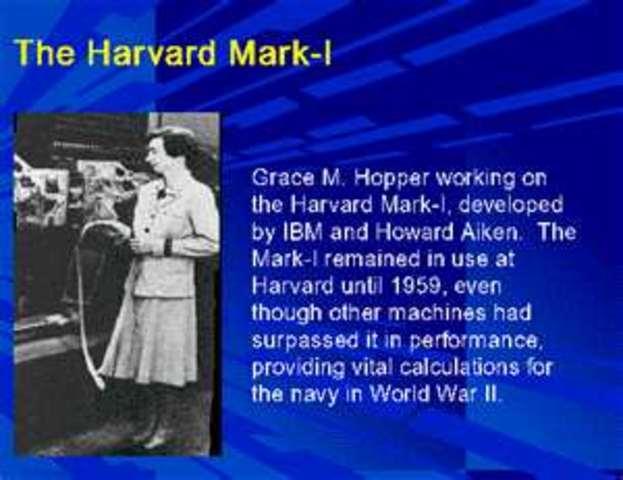 Engineers at Harvard and IBM build the Harvard Mark I computer