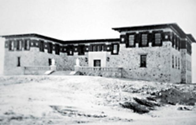 the Centennial Museum opens